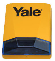 yale alarm additional replacement siren bell box new ebay. Black Bedroom Furniture Sets. Home Design Ideas